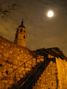 Kalemegdan at night